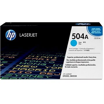 HP CE251A azurový (CE251A)