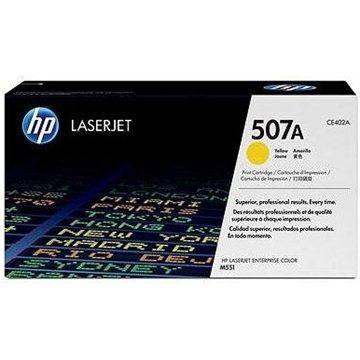 HP CE402A č. 507A žlutý - originální