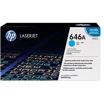 HP CF031A č. 646A modrý - originální