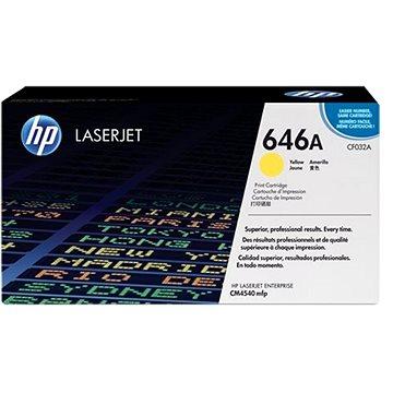 HP CF032A č. 646A žlutý - originální