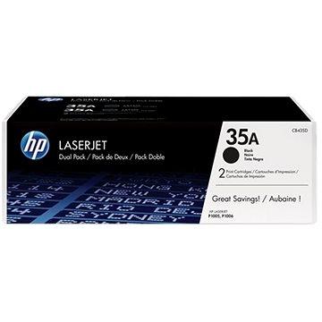 HP CB435AD č.35A černý - originální + ZDARMA Fotopapír SAFEPRINT A4 10 listů matný