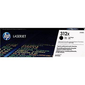 HP CF380X č. 312X černý (CF380X)