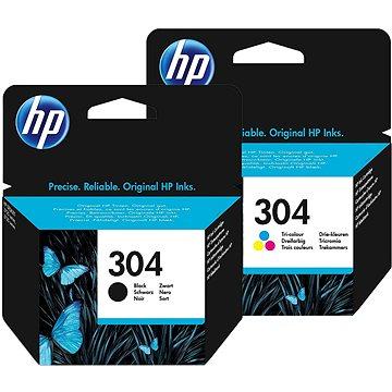 HP č. 304 černá+barevná (N9K06AE+N9K05AE)
