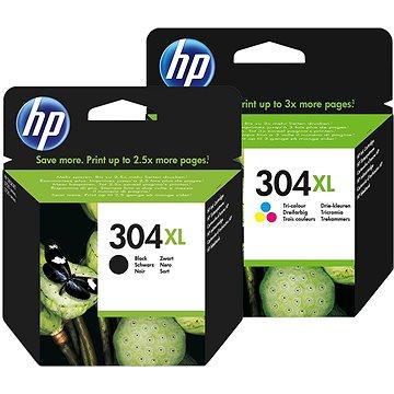 HP č. 304XL černá+barevná (N9K08AE+N9K07AE)