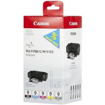 Canon PGI-9 PBK/C/M/Y/GY MultiPack (1034B011)