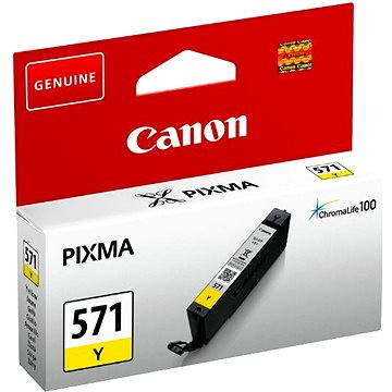 Canon CLI-571Y žlutá (0388C001)