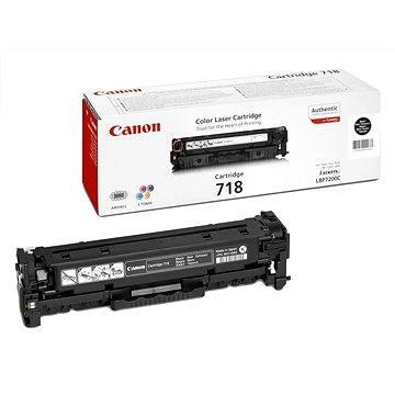 Canon CRG-718BK Dual Pack černý 2ks (2662B005)