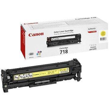 Canon CRG-718Y žlutý (2659B002)