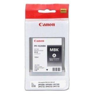 Canon PFI-102MBK matná černá (0894B001AA)