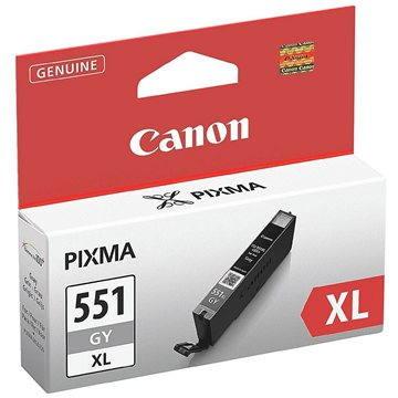 Canon CLI-551GY XL šedá (6447B001)