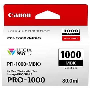 Canon PFI-1000MBK matná černá (0545C001)