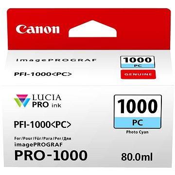 Canon PFI-1000PC foto azurová (0550C001)