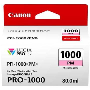 Canon PFI-1000PM foto purpurová (0551C001)