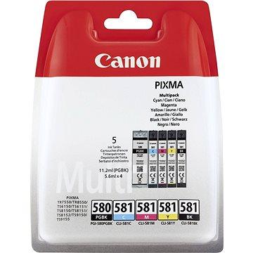 Canon PGI-580PGBK/CLI-581BK/C/M/Y MultiPack (2078C005)