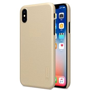 Nillkin Frosted pro iPhone X gold (8595642271052)