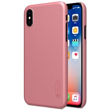 Nillkin Frosted pro Apple iPhone X Rose Gold (8595642271069)