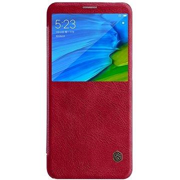 Nillkin Qin S-View pro Xiaomi Redmi Note 5 Red (8596311021930)