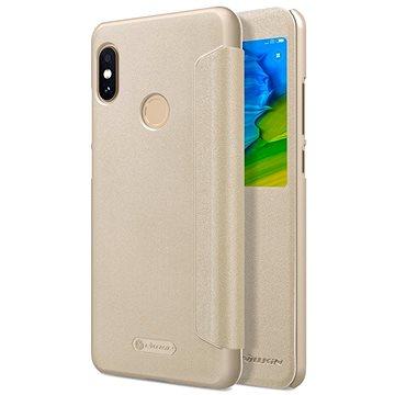 Nillkin Sparkle S-View pro Xiaomi Redmi Note 5 Gold (8596311021978)