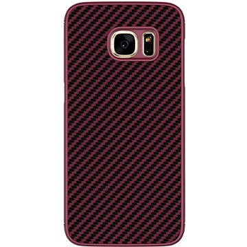 Nillkin Synthetic Fiber Carbon Red pro Samsung G930 Galaxy S7 (8595642233876)