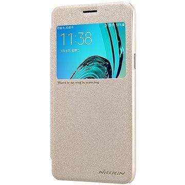Nillkin Sparkle S-View Gold pro Samsung A520 Galaxy A5 2017 (8595642258992)