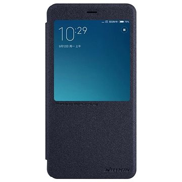 Nillkin Sparkle S-View pro Xiaomi Redmi Note 4 Global Black (8595642263224)