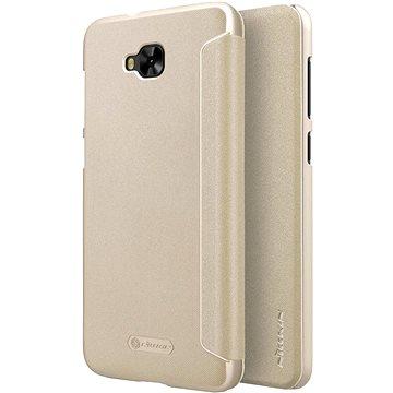 Nillkin Sparkle Folio pro Asus Zenfone 4 Selfie ZD553KL Gold (8596311004841)