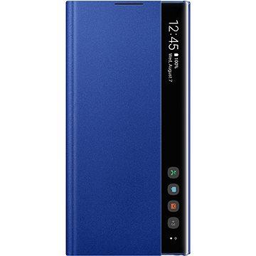 Samsung Flipové puzdro Clear View na Galaxy Note10+ modré(EF-ZN975CLEGWW)