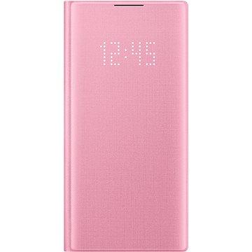 Samsung Flipové puzdro LED View na Galaxy Note10 ružové(EF-NN970PPEGWW)