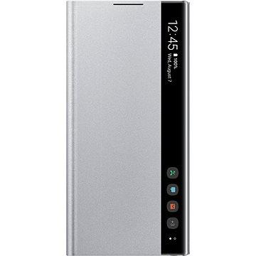 Samsung Flipové puzdro Clear View na Galaxy Note10 strieborné(EF-ZN970CSEGWW)