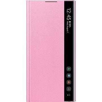 Samsung Flipové puzdro Clear View na Galaxy Note10 ružové(EF-ZN970CPEGWW)