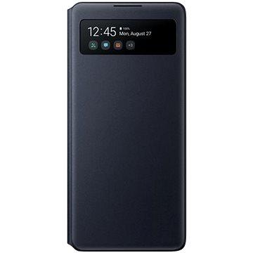 Samsung flipové pouzdro S View pro Galaxy S10 Lite černé (EF-EG770PBEGEU)