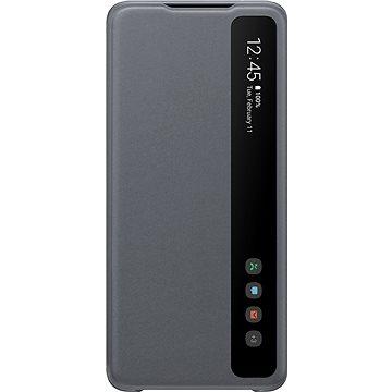 Samsung Flipové pouzdro Clear View pro Galaxy S20 Ultra šedé (EF-ZG988CJEGEU)