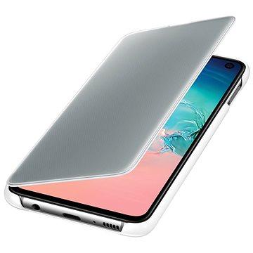 Samsung Galaxy S10e Clear View Cover bílý (EF-ZG970CWEGWW)