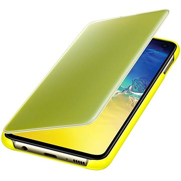 Samsung Galaxy S10e Clear View Cover žlutý (EF-ZG970CYEGWW)