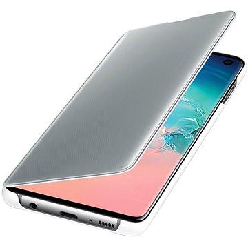 Samsung Galaxy S10 Clear View Cover bílý (EF-ZG973CWEGWW)