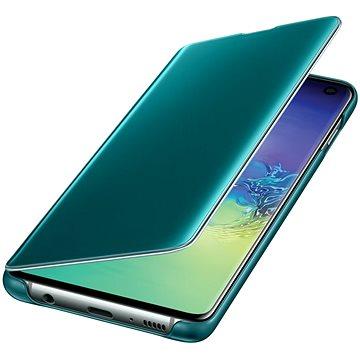 Samsung Galaxy S10 Clear View Cover zelený (EF-ZG973CGEGWW)