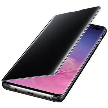Samsung Galaxy S10+ Clear View Cover černý (EF-ZG975CBEGWW)