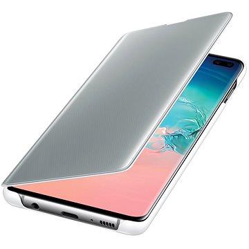 Samsung Galaxy S10+ Clear View Cover bílý (EF-ZG975CWEGWW)