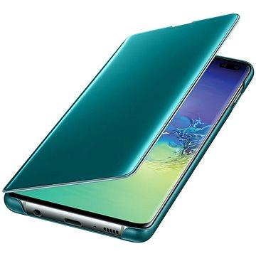 Samsung Galaxy S10+ Clear View Cover zelený (EF-ZG975CGEGWW)
