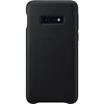 Samsung Galaxy S10e Leather Cover černý (EF-VG970LBEGWW)