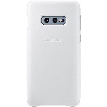 Samsung Galaxy S10e Leather Cover bílý (EF-VG970LWEGWW)