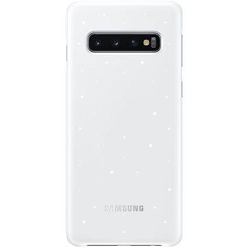 Samsung Galaxy S10 LED Cover bílý (EF-KG973CWEGWW)