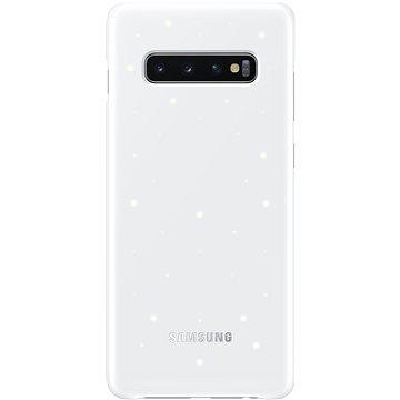 Samsung Galaxy S10+ LED Cover bílý (EF-KG975CWEGWW)