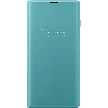 Samsung Galaxy S10 LED View Cover zelený (EF-NG973PGEGWW)