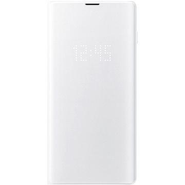 Samsung Galaxy S10+ LED View Cover bílý (EF-NG975PWEGWW)
