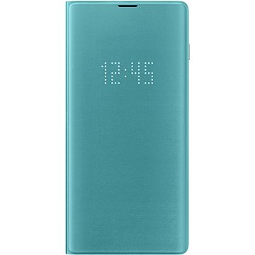 Samsung Galaxy S10+ LED View Cover zelený (EF-NG975PGEGWW)