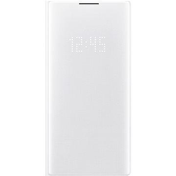 Samsung Flipové puzdro LED View na Galaxy Note10+ biele(EF-NN975PWEGWW)