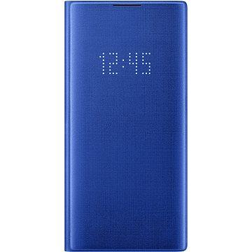 Samsung Flipové puzdro LED View na Galaxy Note10+ modré(EF-NN975PLEGWW)