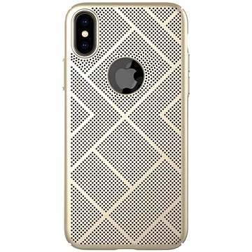 Nillkin Air case pro Apple iPhone XS Max Gold (6902048163300)