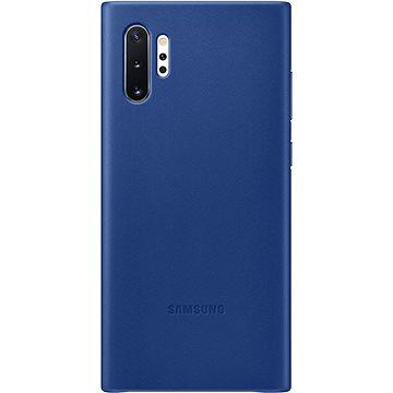 Samsung Kožený zadní kryt pro Galaxy Note10+ modrý (EF-VN975LLEGWW)